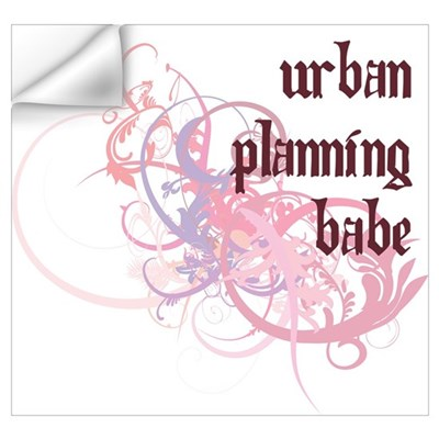 Urban Planning Babe Wall Decal