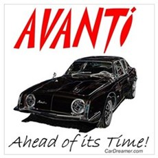 Avanti-Ahead of its Time Poster
