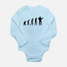 Evolution rock Long Sleeve Infant Bodysuit