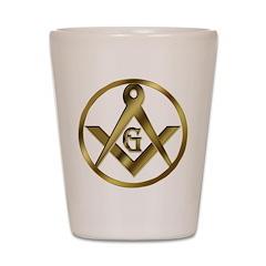 The Masonic Circle Shot Glass