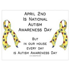 Autism Awareness Day Poster