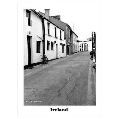 Kilarny in Blackand White Poster