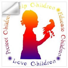 Protect Children Rights Wall Decal