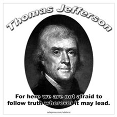 Thomas Jefferson 06 Framed Print