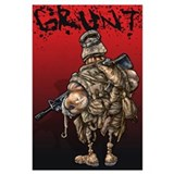 Grunt Wrapped Canvas Art