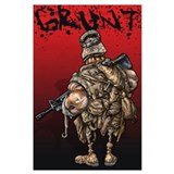 Grunt Framed Prints