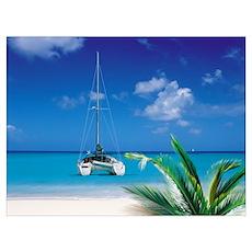 Catamaran Giclee Poster