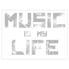 Music Is My Life Canvas Art