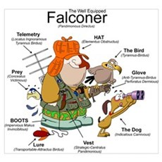 The Falconer Poster