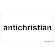 BTR: antichristian Poster