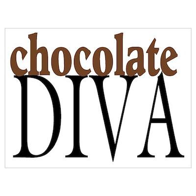 Chocolate Diva Poster