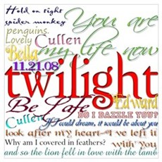 Twilight Quotes Poster