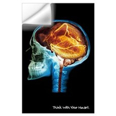 Heart Think MRI Wall Decal