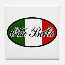Ciao Bella Tile Coaster