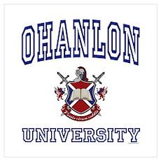 OHANLON University Poster