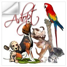 Adopt a Pet Wall Decal