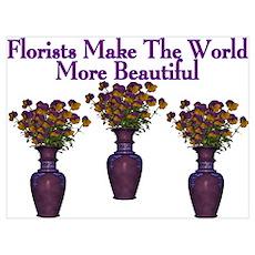 Florists Poster