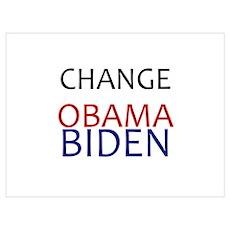 obama/biden Poster