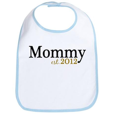 New Mommy Est 2012 Bib
