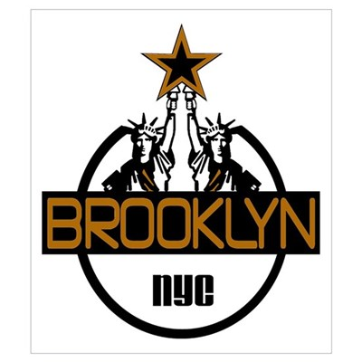 """Brooklyn Liberty Logo"" Poster"