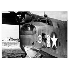 US NAVY FLYING BOAT Poster