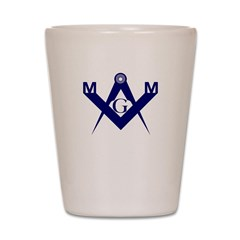 Master Mason Shot Glass