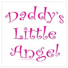 Daddy's Little Angel Poster