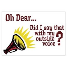 My Outside Voice Poster