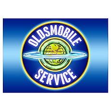 Oldsmobile Service Poster