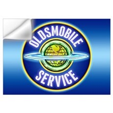 Oldsmobile Service Wall Decal