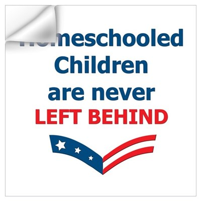 No Child Left Behind Wall Decal
