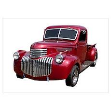 1946 Chevrolet Pickup Poster