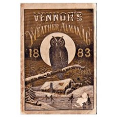 1883 Almanac Cover Canvas Art