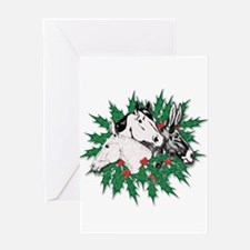 Merry Christmas Three Times O Greeting Card