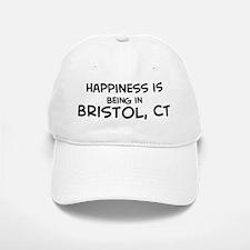 Happiness is Bristol Baseball Baseball Cap