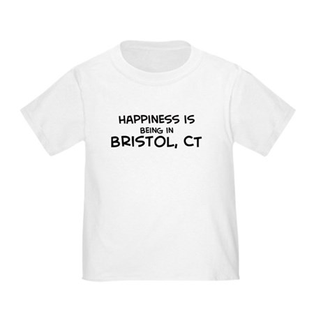 Happiness is Bristol Toddler T-Shirt