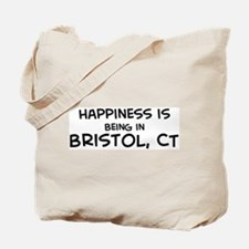 Happiness is Bristol Tote Bag
