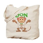 Little Monkey Don Tote Bag