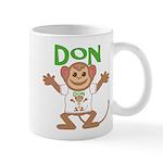 Little Monkey Don Mug