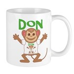 Little Monkey Don Mug