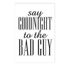 Say Goodnight To The Bad Guy Scarface Postcards (P