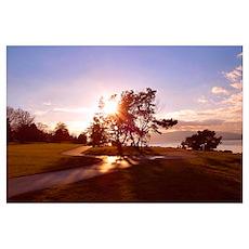 Bellingham Bay Sunset Poster
