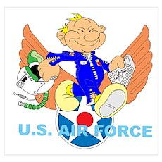 AIR FORCE PILOT Poster