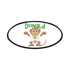 Little Monkey Donald Patches