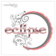 Twilight eclipse movie moon v Poster