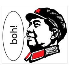 Mao Loves D&B Framed Print