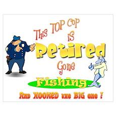 Top Cop's Big Catch. Poster