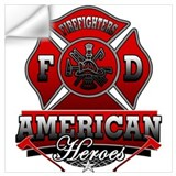 Firemen Wall Decals