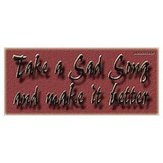Make a sad song better Poster