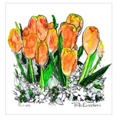 Tulips by RD Riccoboni Poster